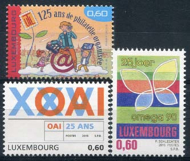 Luxemburg, michel 2031/33, xx
