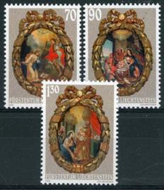 Liechtenstein, michel 1275/77, xx