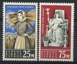 Cyprus , michel 218/19 , xx