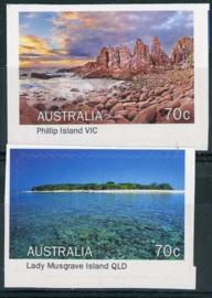Australie, michel 4320/21, xx