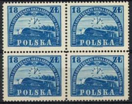 Polen, michel 4 x 504, xx