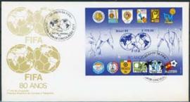 Brazilie, FDC michel blok 65, 1984