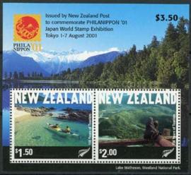 N.Zeeland, michel blok 126, xx
