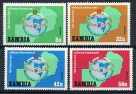 Zambia, michel 217/20, xx