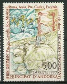 Andorra Fr., michel 461, xx