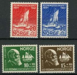 Noorwegen, michel 232/35, xx