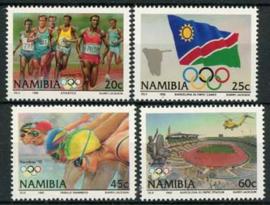 Namibie, michel 727/30, xx