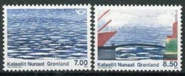 Groenland, michel 561/62, xx