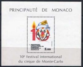 Monaco , michel blok 27 , xx