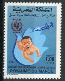 Marokko, michel 1126, xx