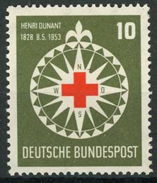 Bundespost, michel 164, xx
