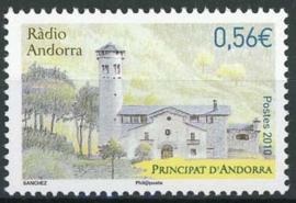 Andorra Fr., michel 716, xx