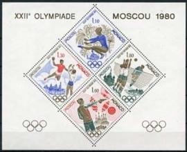 Monaco michel blok 1415/18 , xx