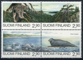 Finland, michel 1291/94, xx
