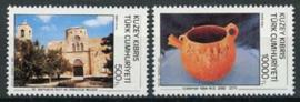 Turks Cyprus, michel 351/52, xx