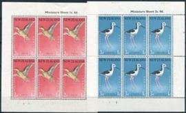N.Zeeland, michel kb 386/87, xx