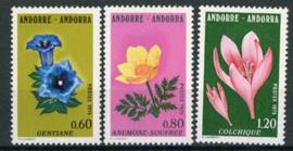 Andorra Fr., michel 266/68, xx