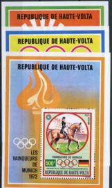 Haute Volta, michel blok 6/8, xx
