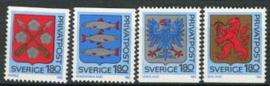 Zweden, michel 1330/33, xx