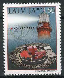 Letland, michel 591, xx