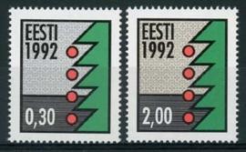 Estland, michel 195/96 y , xx