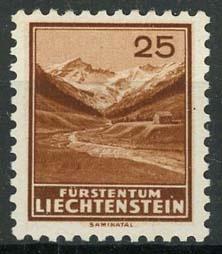 Liechtenstein, michel 131, x