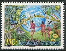 N.Caledonie, michel 1451, xx