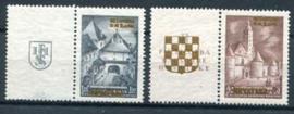 Kroatie, michel 39/40 zf, xx