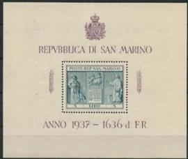S.Marino, michel blok 1, xx