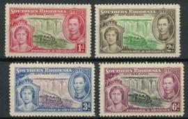 S.Rhodesie, michel 38/41, x