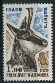 Andorra Fr., michel 295, xx