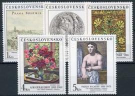 Tsjechoslowakije, michel 2641/45, xx