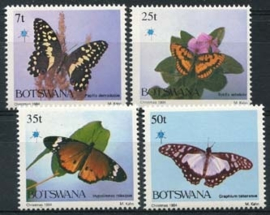 Botswana , michel 351/54 , xx