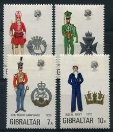 Gibraltar, michel 289/92, xx