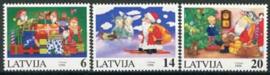 Letland, michel 444/46, xx