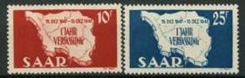 Saar , michel 260/61 , xx