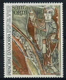 Andorra fr., michel 355, xx