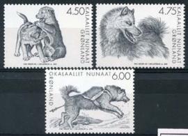 Groenland, michel 393/95,xx