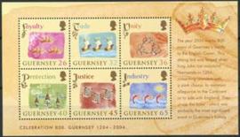 Guernsey, michel blok 37, xx