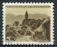 Liechtenstein, michel 284, xx