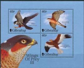 Gibraltar , michel blok 47 , xx