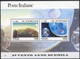 Italie, michel blok 20, xx