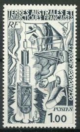 Antarctica Fr., michel 124, xx