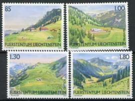 Liechtenstein, michel 1383/86, xx