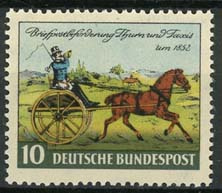 Bundespost, michel 160, xx