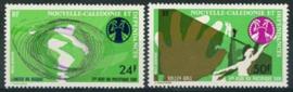N.Caledonie, michel 567/68, xx