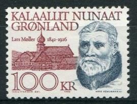 Groenland, michel 227, xx