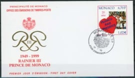 Monaco, FDC michel 2442