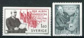 Zweden, michel 1349/50, xx