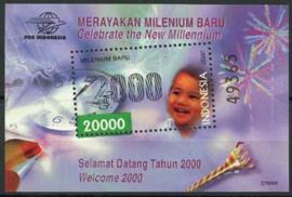 Indonesie, zbl. blok 175, xx
